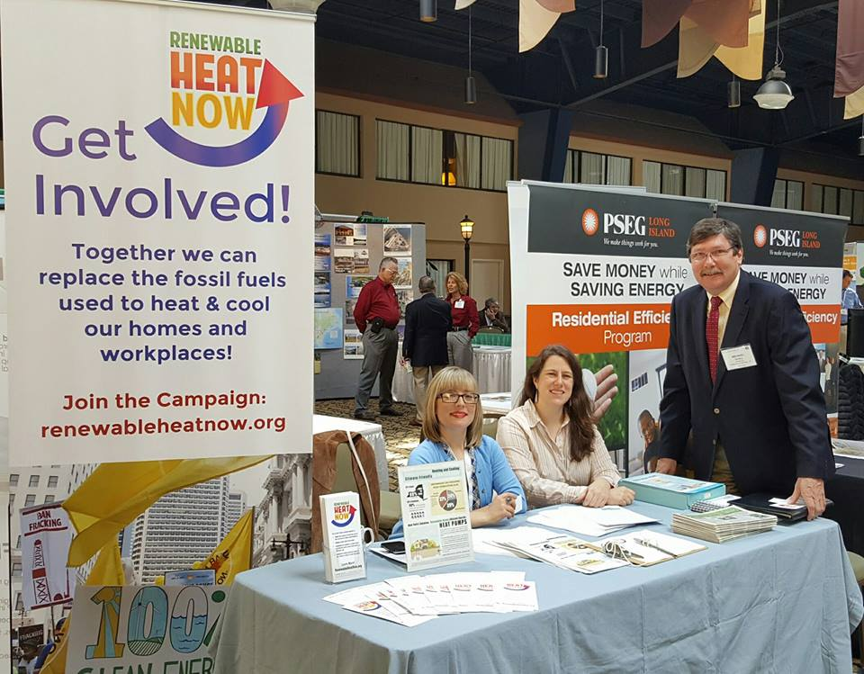 Renewable Heat Now at NY-GEO conference